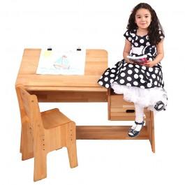 Regulowane biurko dla dzieci Ecodesk E-112