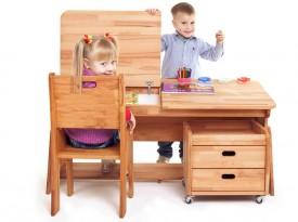 Dziecięce biurko z regulacją Ecodesk B-112