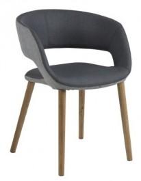 Nowoczesne krzesło na dębowych nogach Grace