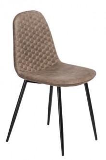 Krzesło z pikowanym oparciem Hiko