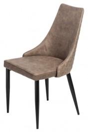 Nowoczesne krzesło z pikowanym tyłem Candy