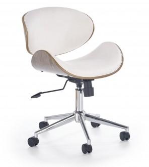 Obrotowe krzesło do gabinetu z ekoskóry Alto
