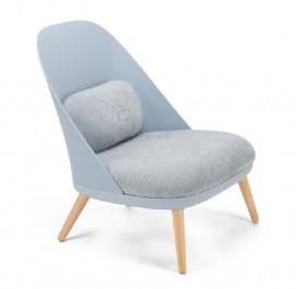 Nowoczesny fotel wypoczynkowy z poduszkami Alabama
