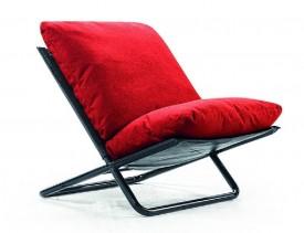 Fotel wypoczynkowy z miękkimi poduchami Santiago