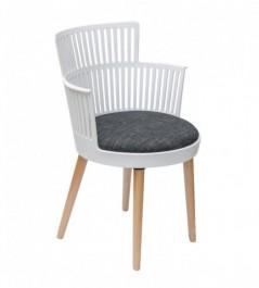 Designerskie krzesło z poduszką Akita