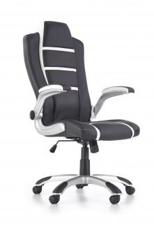 Obrotowy fotel z ekologicznej skóry Fast