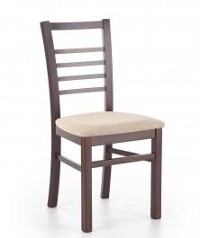 Drewniane krzesło do jadalni Adrian ciemny orzech