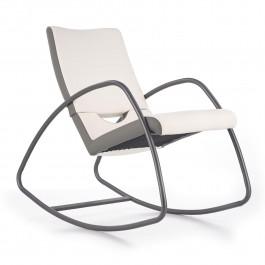 Fotel bujany tapicerowany ekoskórą Balance