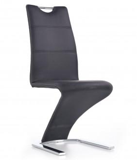 Krzesło z rączką na metalowych płozach K291