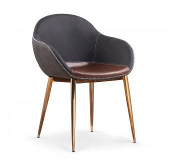 Krzesło do jadalni na metalowych nogach K304