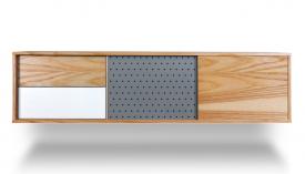 Komoda wisząca z szafkami i szufladami H Long