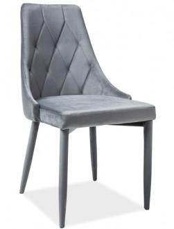 Tapicerowane krzesło do jadalni Trix Velvet