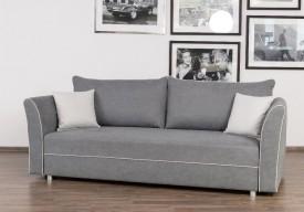 Rozkładan sofa z funkcją spania i pojemnikiem na pościel Fluffy