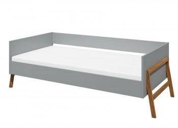 Łóżko do pokoju dziecięcego 80x160 Lotta Grey