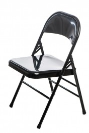 Metalowe krzesło składane do domu i biura Cotis