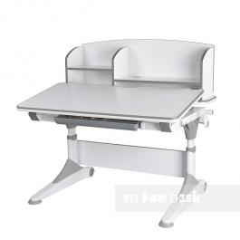 Ergonomiczne biurko dziecięce z nadstawką i pochylanym blatem Trovare