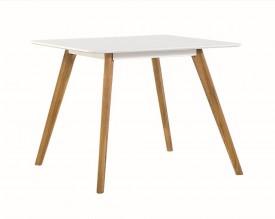 Nierozkładany stół do jadalni w stylu skandynawskim Nord 80
