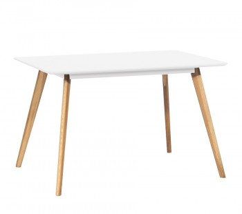 Nierozkładany stół do jadalni w stylu skandynawskim Nord 120