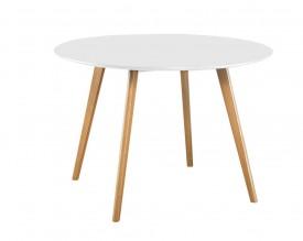 Okrągły stół do jadalni w stylu skandynawskim Nord FI120