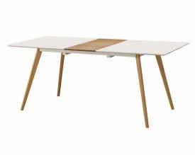 Rozkładany stół do jadalni w stylu skandynawskim Nord 160-200 Move