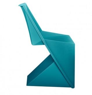 Designerskie krzesło z tworzywa sztucznego Flato