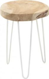 Nowoczesny stołek w stylu industrialnym Miko