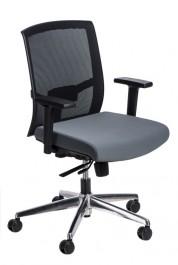 Ergonomiczny fotel biurowy z regulowanymi podłokietnikami Ergo