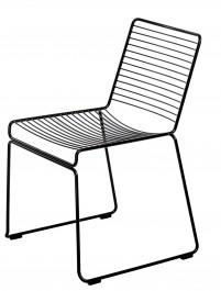 Metalowe krzesło bez podłokietników Dilly
