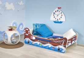 Łóżko dziecięce z funkcją kołyski Boat