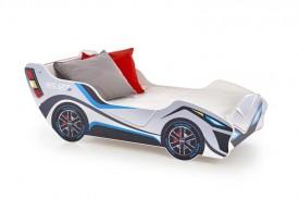 Łóżko z półką do pokoju chłopca Lambo