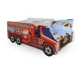 Łóżko wóz strażacki dla chłopca Fire Truck