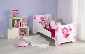 Łóżko z wróżką do pokoju dziewczynki Happy Fairy