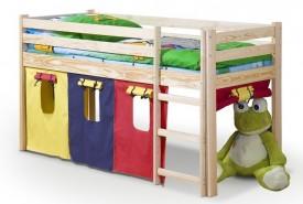 Dziecięce łóżko na antresoli z drabinką Neo