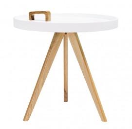 Skandynawski stolik kawowy z rączką do przenoszenia Tito