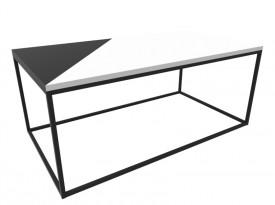 Stolik kawowy z blatem w wysokim połysku Origami Classic