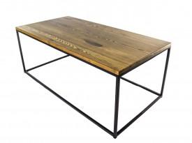 Prostokątny stolik kawowy do salonu Simple