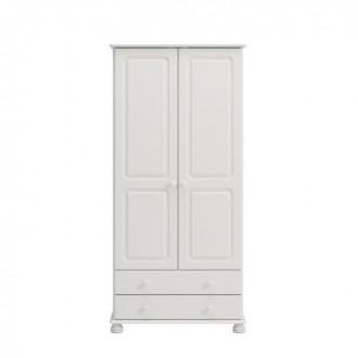 Szafa ubraniowa 2+2 Richmond kolor biały