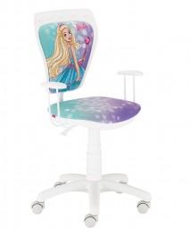Krzesło obrotowe z dziewczęcymi motywami Ministyle Barbie