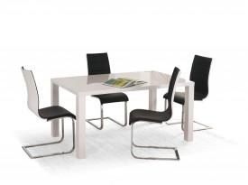 Nierozkładany lakierowany stół Ronald 160
