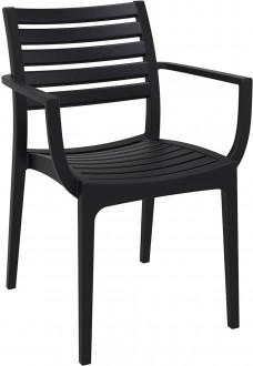 Krzesło kawiarniane z podłokietnikami Alma