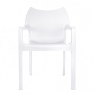 Krzesło ogrodowe z podłokietnikami Dionisio