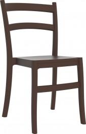 Krzesło do kawiarni z polipropylenu Fiesta