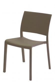 Krzesło kawiarniane Fiona bez podłokietników