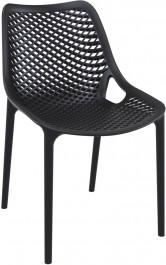 Krzesło do kawiarni z polipropylenu Grid