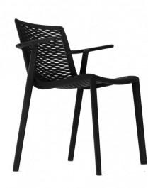 Krzesło kawiarniane z podłokietnikami NetKat