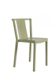 Krzesło kawiarniane z polipropylenu Neutra