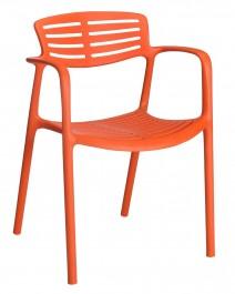 Krzesło z tworzywa sztucznego Toledo Aire