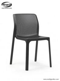 Krzesło do kawiarni z tworzywa sztucznego Bit