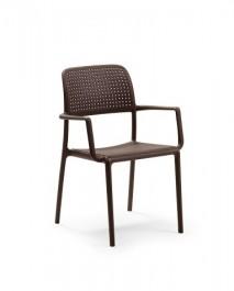 Krzesło kawiarniane Bora z podłokietnikami