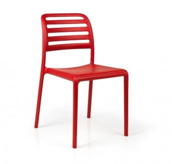 Krzesło z polipropylenu Costa bez podłokietników